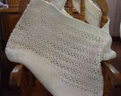 Super strong cotton crochet bag