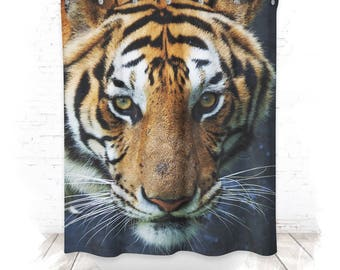 Shower curtain / shower curtain 150cm TIGER