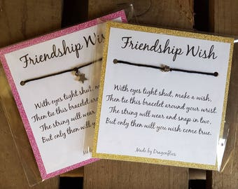 Friendship Wish Bracelet
