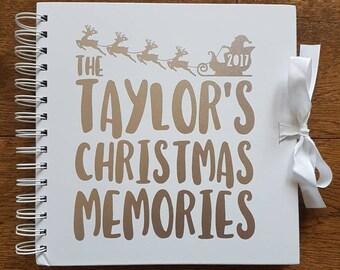 Personalised Christmas Scrapbook