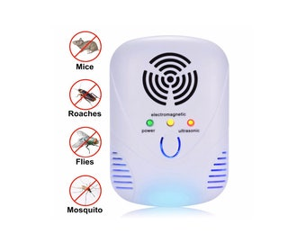 PTee UltraSonic Pest Control - Best indoor ultrasonic pest repeller - Natural, safe for children and pets