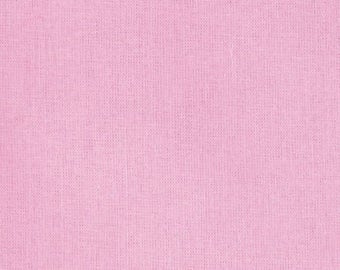 Kona Cotton Petunia Yardage | Robert Kaufman | Pink Quilt Fabric | Pink Solid | Fabric by the Yard | Quilting Fabric | Fabric Bundle