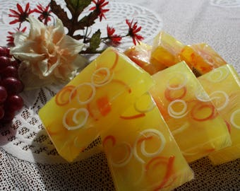 """Handcrafted """"Lemon Groove"""" Glycerin Soap"""