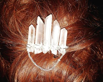 Crystal Accent Hair Comb