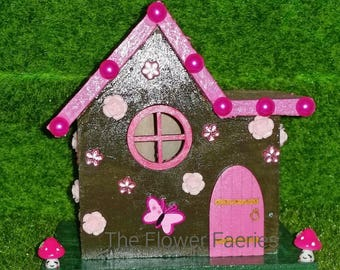 Fairy House -In the pink!