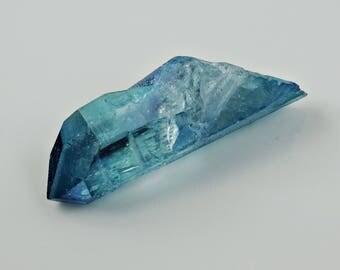 Aqua Aura Quartz Aqua aura Quartz Crystal Point Arkansas * B008