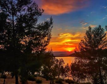 Lake Jennings Sunset