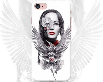 The Hunger Games Phone case iPhone 7 7 Plus 6 6s 6 plus 5 5s 5se 4 Samsung galaxy case s7 edge s7 s6 s5 s4 s3 print art katniss peeta cover