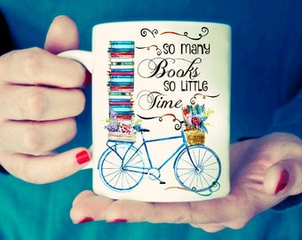 So many books so little time.  Mug
