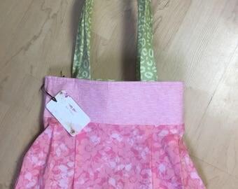 Handmade reversible purse