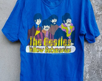 Vintage The Beatles Yellow Submarine Tshirt