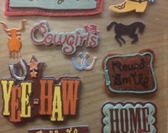Western Embellishment Stickers