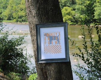 University of Tennessee - Smokey's on the Prowl with checkered board