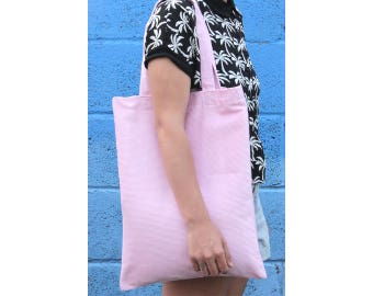 Pink! Corduroy Shoulder Bag