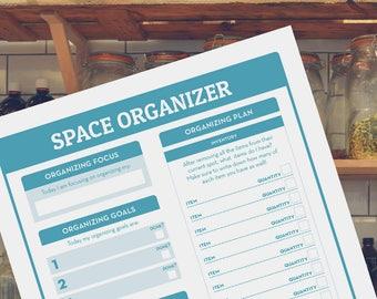 Home Organization, Home Management Printable | Household Binder | Planner for home, kitchen organization, home planner, life planner, PDF