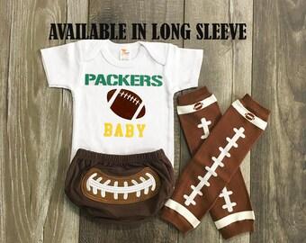 baby boys green bay packers football  - green bay packers baby boy outfit - packers baby boy football outfit - boys football leg warmers