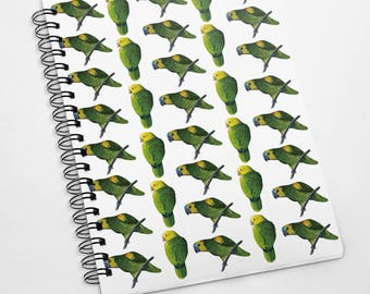 Exclusive A5 100 page Amazon Parrot notebook