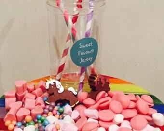 Unicorn Belgian Chocolate Treat Jar