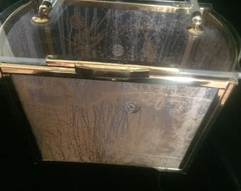 Vintage Confetti Lucite Purse