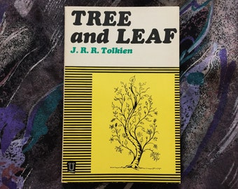 J.R.R. Tolkien | Tree & Leaf Unwin 3rd edition 1968 Fantasy Fairytales Vintage RARE