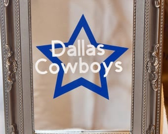 Dallas Cowboys Wall Decor dallas cowboys decor | etsy