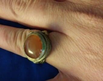 Carnelian Ring size 7.5