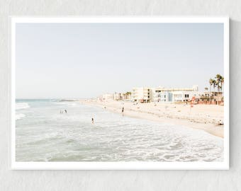 Beach Photo, California Print, Beach Print, Beach Wall Art, California Beach Art, Beach Printable, Beach Digital Print, California Poster