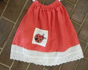 Polka Dot Pillowcase Dress