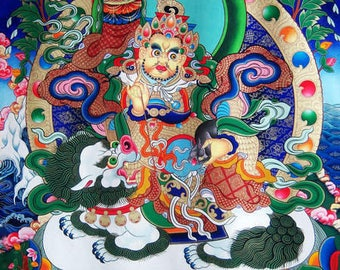 Tibetan God of Abundant Fortune 65cmx49cm
