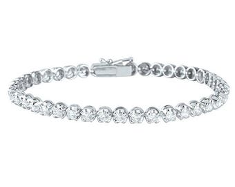 Twelve Pointer Diamond Bracelet