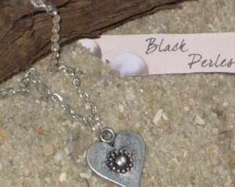 Small chain Heart Necklace