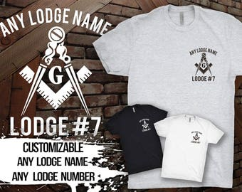 Custom Masonic Lodge T-Shirt