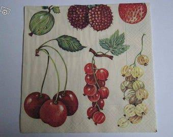 Multi fruit towel