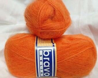 yarn-crochet-knit - 5 balls of yarn / 100gr / MOHAIR