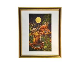 Monkeys, by Axel Amuchastegui, 1946