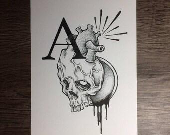 Heart (original drawing)