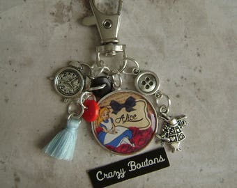 Alice bag Keychain/charm