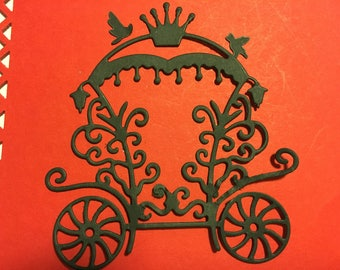 Carriage for scrapbooking die cuts