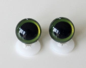 Secure eyes 18mm KHAKI for toy or stuffed animal