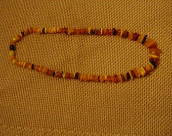 Necklace, Amber
