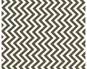 Cotton designer print / CHEVRON / cut 30cm