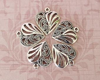 Heart shaped pendants