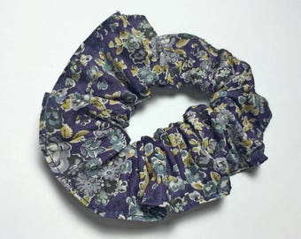 Purple girl Liberty Tatum scrunchie