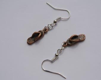 """pair of earrings """"tap Beach"""""""