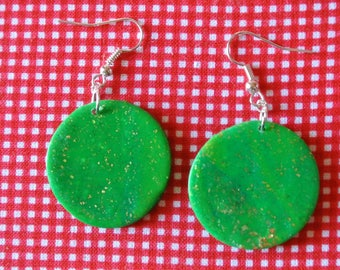 resin round, green