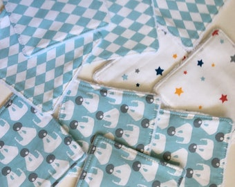 Scandi pattern baby wipes