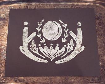 The Eden Print on Cardstock