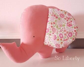 The elephant Agathe. Plush Musical toy