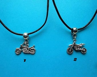 Motorcycle pendant with free gift pouch choice of 1