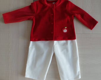 all 12 months jacket and matching pants